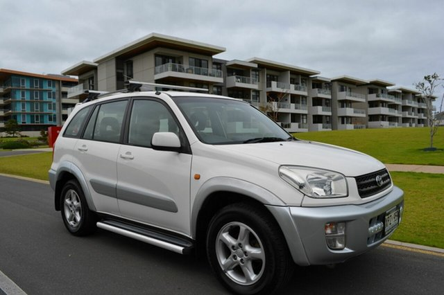 Used Toyota RAV4 ACA21R Cruiser, 2002 Toyota RAV4 ACA21R Cruiser White 5 Speed Manual Wagon