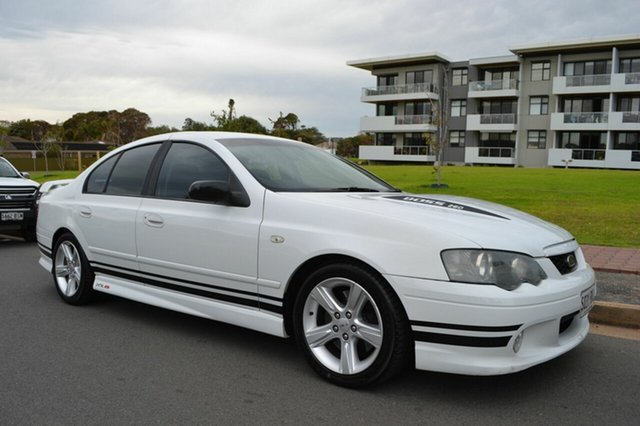 Used Ford Falcon BA Mk II XR8, 2005 Ford Falcon BA Mk II XR8 White 4 Speed Sports Automatic Sedan