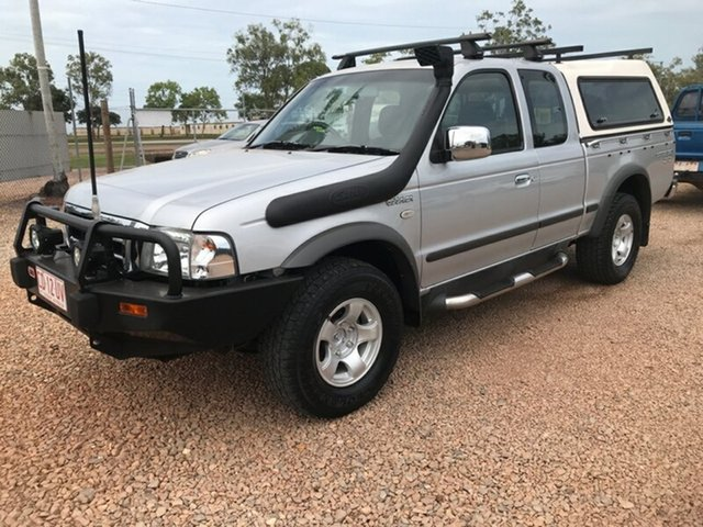 Used Ford Courier PH XLT Super Cab Hurricane, 2004 Ford Courier PH XLT Super Cab Hurricane Silver 5 Speed Manual Utility