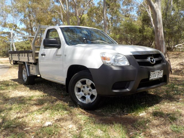 Used Mazda BT-50 UNY0W4 DX 4x2, 2010 Mazda BT-50 UNY0W4 DX 4x2 5 Speed Manual Cab Chassis