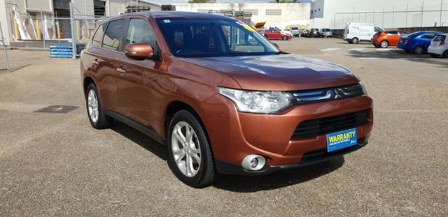 Used Mitsubishi Outlander ZJ MY13 Aspire 4WD, 2013 Mitsubishi Outlander ZJ MY13 Aspire 4WD Bronze 6 Speed Constant Variable Wagon