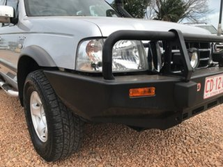 2004 Ford Courier PH XLT Super Cab Hurricane Silver 5 Speed Manual Utility.