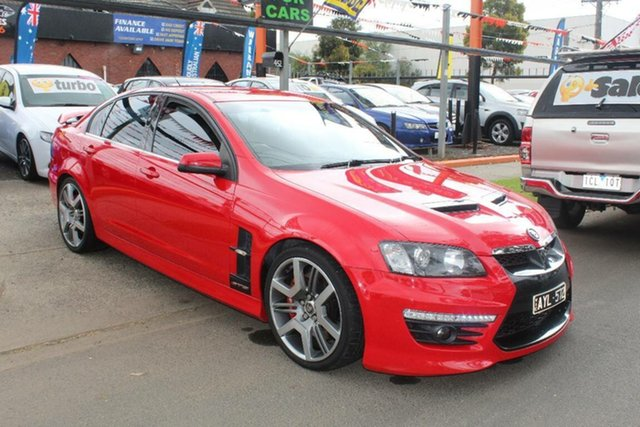 Used Holden Special Vehicles GTS E3 , 2010 Holden Special Vehicles GTS E3 Red 6 Speed Manual Sedan
