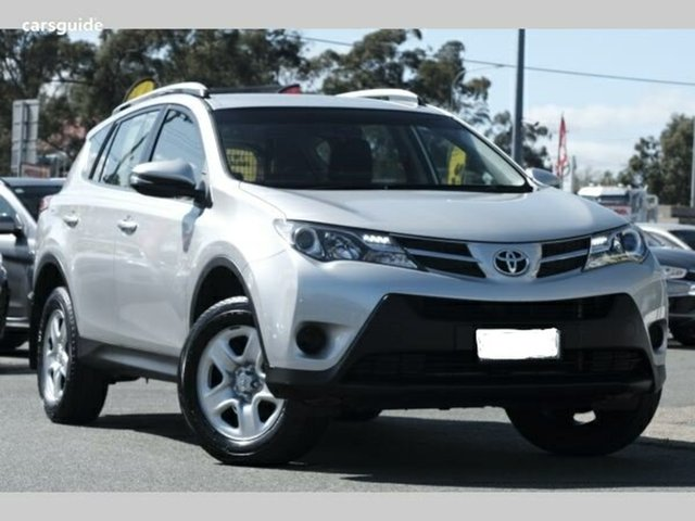 Used Toyota RAV4 ZSA42R MY14 GX 2WD, 2014 Toyota RAV4 ZSA42R MY14 GX 2WD Silver 7 Speed Constant Variable Wagon