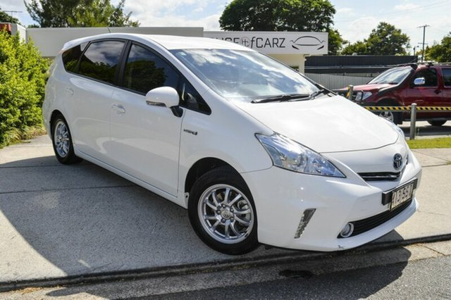 Used Toyota Prius v ZVW40R , 2012 Toyota Prius v ZVW40R White 1 Speed Constant Variable Wagon Hybrid