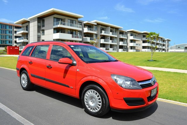 Used Holden Astra AH MY07 CD, 2007 Holden Astra AH MY07 CD Red 4 Speed Automatic Wagon