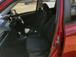 2013 Suzuki Swift FZ MY13 GL Red 4 Speed Automatic Hatchback