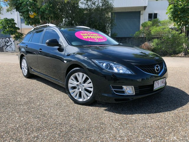 Used Mazda 6 GH1021 MY09 , 2009 Mazda 6 GH1021 MY09 Black 6 Speed Manual Wagon