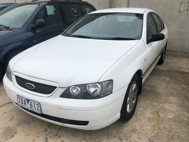 Used Ford Falcon BA MkII XT Hoppers Crossing, 2004 Ford Falcon BA MkII XT White 4 Speed Auto Seq Sportshift Sedan