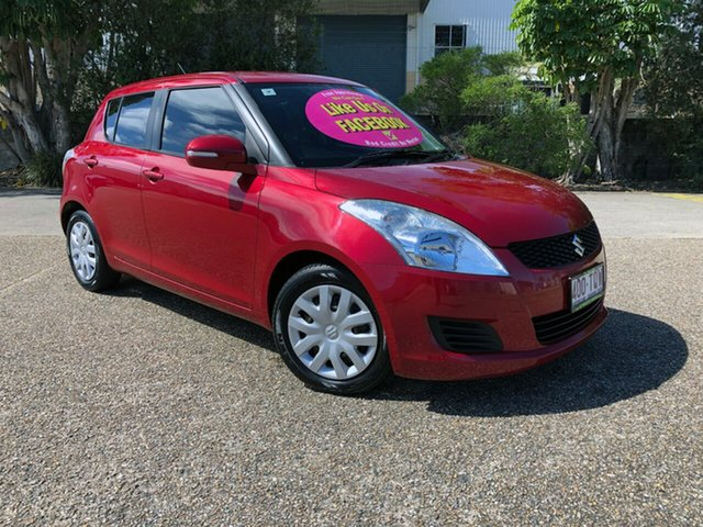 Used Suzuki Swift FZ MY13 GL, 2013 Suzuki Swift FZ MY13 GL Red 4 Speed Automatic Hatchback