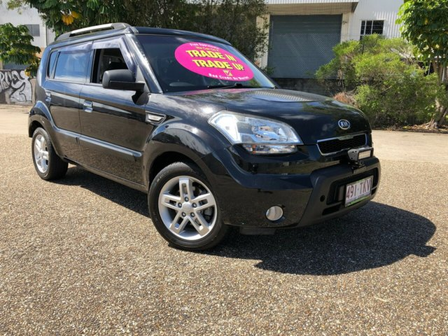Used Kia Soul AM MY10 2, 2009 Kia Soul AM MY10 2.0 Black 5 Speed Manual Hatchback