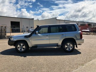2010 Nissan Patrol GU 7 MY10 ST Silver 4 Speed Automatic Wagon