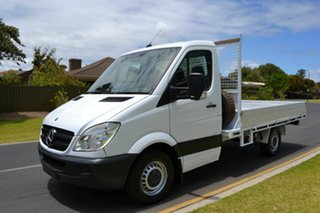 2009 Mercedes-Benz Sprinter NCV3 MY09 515CDI LWB White 6 Speed Manual Cab Chassis