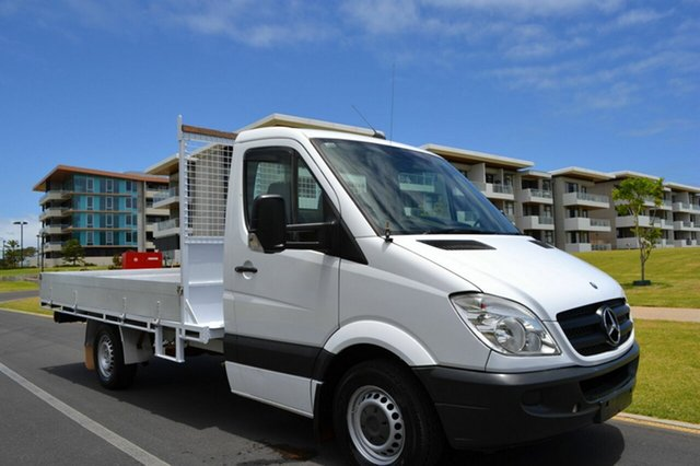 Used Mercedes-Benz Sprinter NCV3 MY09 515CDI LWB, 2009 Mercedes-Benz Sprinter NCV3 MY09 515CDI LWB White 6 Speed Manual Cab Chassis