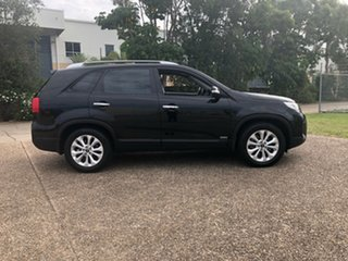 2013 Kia Sorento XM MY13 SLi 4WD Black 6 Speed Sports Automatic Wagon.