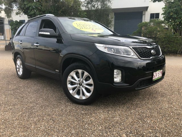 Used Kia Sorento XM MY13 SLi 4WD, 2013 Kia Sorento XM MY13 SLi 4WD Black 6 Speed Sports Automatic Wagon