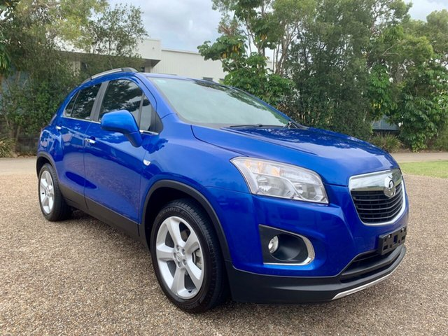 Used Holden Trax TJ MY15 LTZ, 2015 Holden Trax TJ MY15 LTZ Blue 6 Speed Automatic Wagon