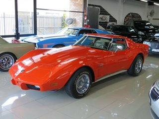 1975 Chevrolet Corvette C3 MY1975 Stingray Hugger Orange 3 Speed Automatic Targa