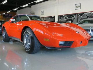 1975 Chevrolet Corvette C3 MY1975 Stingray Hugger Orange 3 Speed Automatic Targa.