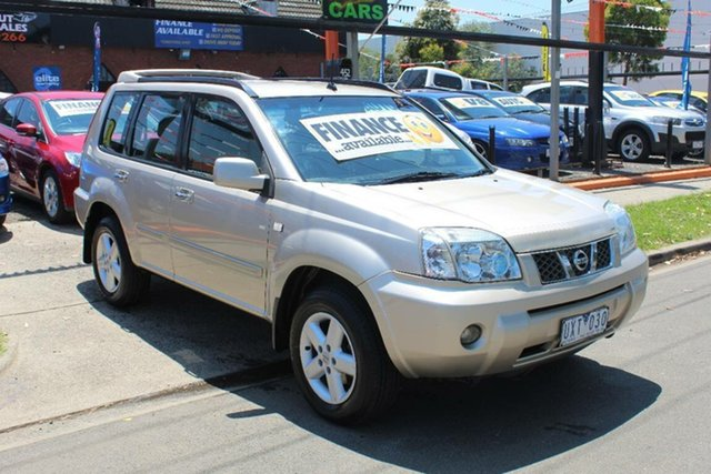 Used Nissan X-Trail T30 TI (4x4), 2005 Nissan X-Trail T30 TI (4x4) Gold 4 Speed Automatic Wagon