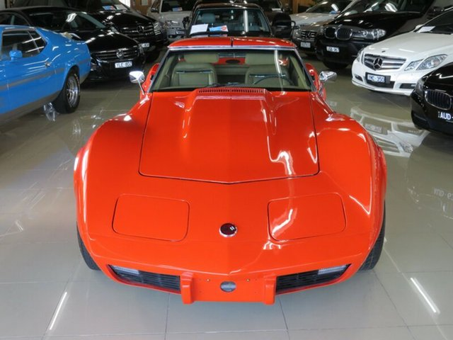 Used Chevrolet Corvette C3 MY1975 Stingray, 1975 Chevrolet Corvette C3 MY1975 Stingray Hugger Orange 3 Speed Automatic Targa
