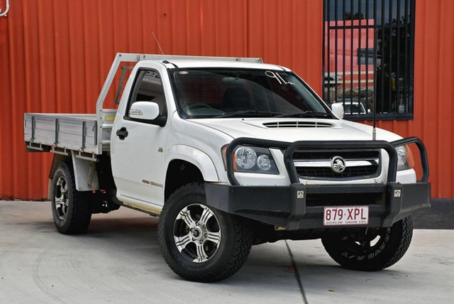 Used Holden Colorado RC MY10 LX, 2010 Holden Colorado RC MY10 LX White 5 Speed Manual Cab Chassis