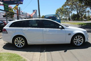 2011 Holden Commodore VE II MY12 Equipe White 6 Speed Automatic Sportswagon