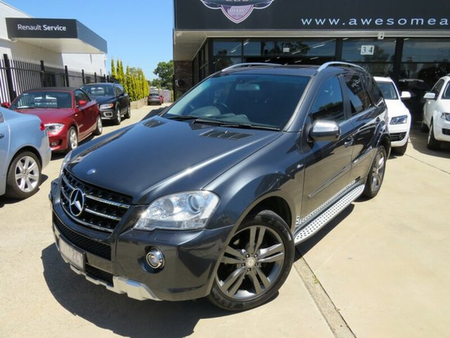Used Mercedes-Benz ML350 CDI W164 09 Upgrade Sports Luxury (4x4), 2010 Mercedes-Benz ML350 CDI W164 09 Upgrade Sports Luxury (4x4) Blue Grey 7 Speed