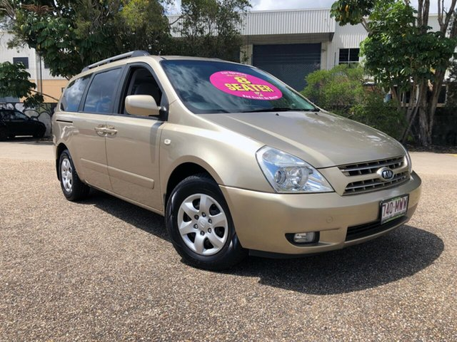 Used Kia Grand Carnival VQ EX, 2007 Kia Grand Carnival VQ EX Gold 5 Speed Sports Automatic Wagon