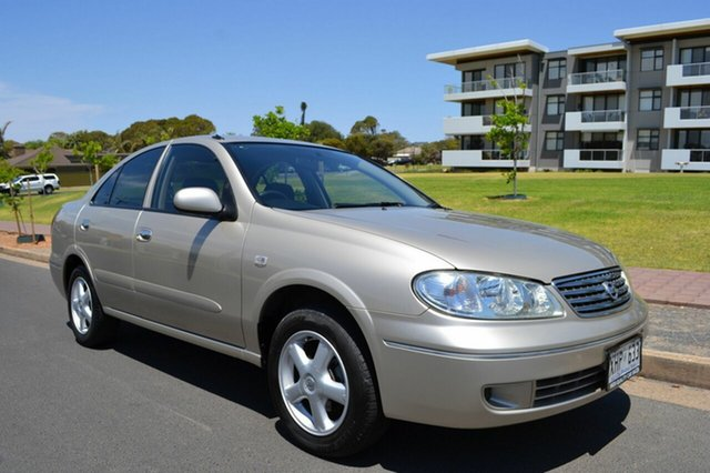 Used Nissan Pulsar N16 MY2004 ST, 2005 Nissan Pulsar N16 MY2004 ST Gold 4 Speed Automatic Sedan