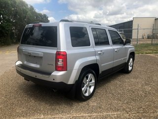 2013 Jeep Patriot MK MY2013 Limited CVT Auto Stick Silver 6 Speed Constant Variable Wagon.