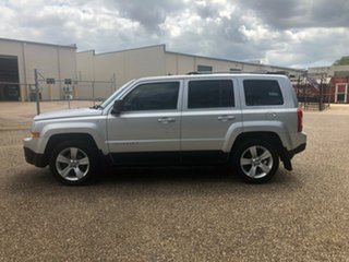 2013 Jeep Patriot MK MY2013 Limited CVT Auto Stick Silver 6 Speed Constant Variable Wagon