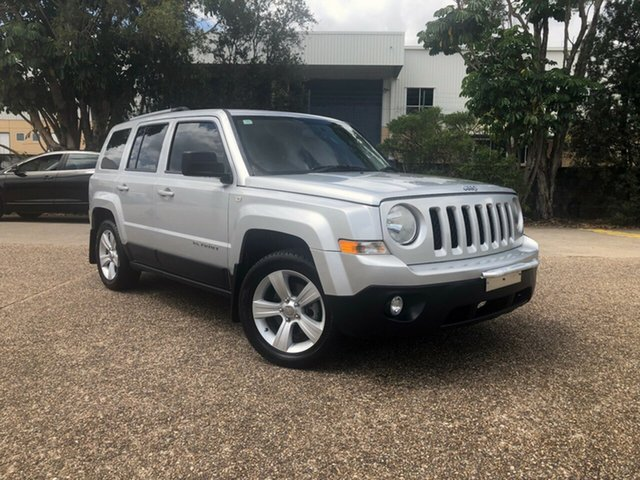 Used Jeep Patriot MK MY2013 Limited CVT Auto Stick, 2013 Jeep Patriot MK MY2013 Limited CVT Auto Stick Silver 6 Speed Constant Variable Wagon