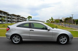 2001 Mercedes-Benz C200 Kompressor CL203 Silver 5 Speed Sports Automatic Coupe.