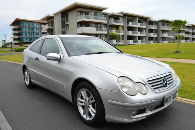 Used Mercedes-Benz C200 Kompressor CL203 , 2001 Mercedes-Benz C200 Kompressor CL203 Silver 5 Speed Sports Automatic Coupe