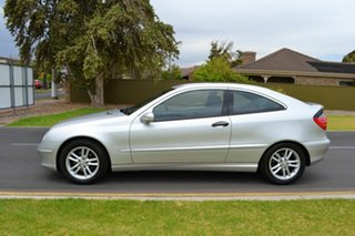 2001 Mercedes-Benz C200 Kompressor CL203 Silver 5 Speed Sports Automatic Coupe