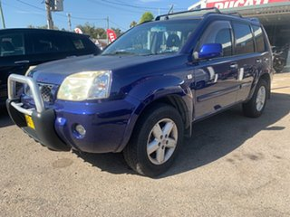 2005 Nissan X-Trail T30 auto 4x4 Blue 4 Speed Automatic Wagon.