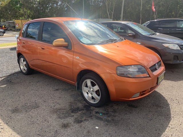Used Holden Barina  5 Speed, 2007 Holden Barina 5 Speed Orange 5 Speed Manual Hatchback