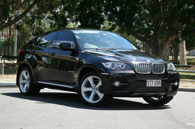 Used BMW X6 E71 xDrive35d Coupe Steptronic, 2008 BMW X6 E71 xDrive35d Coupe Steptronic Black 6 Speed Sports Automatic Wagon