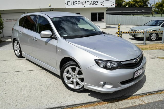 Used Subaru Impreza G3 MY10 RS AWD, 2010 Subaru Impreza G3 MY10 RS AWD Silver 4 Speed Sports Automatic Hatchback