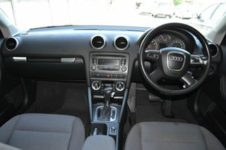 2010 Audi A3 8P MY11 Attraction Sportback S tronic Black 7 Speed Sports Automatic Dual Clutch