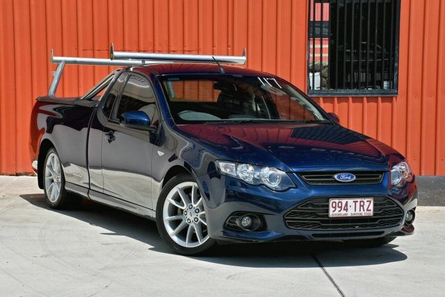 Used Ford Falcon FG MkII XR6 Ute Super Cab, 2013 Ford Falcon FG MkII XR6 Ute Super Cab Blue 6 Speed Sports Automatic Utility