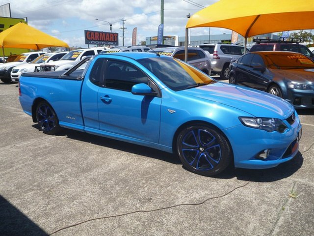 Used Ford Falcon FG XR6 Ute Super Cab Limited Edition, 2011 Ford Falcon FG XR6 Ute Super Cab Limited Edition Blue 6 Speed Manual Utility