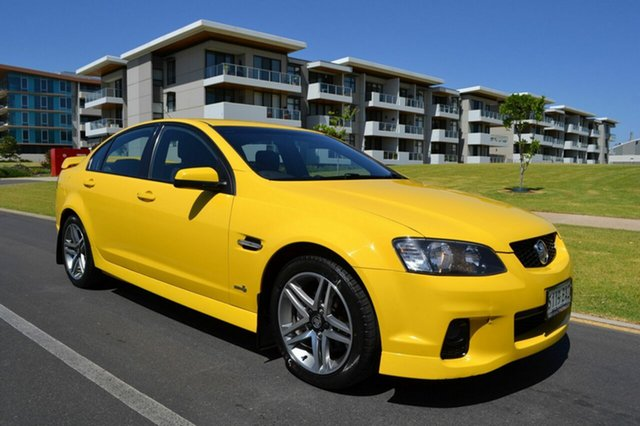 Used Holden Commodore VE II SV6, 2010 Holden Commodore VE II SV6 Yellow 6 Speed Manual Sedan