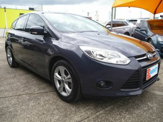 2014 Ford Focus LW MKII Trend Grey 5 Speed Manual Hatchback.