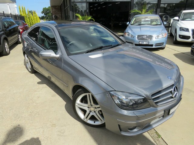 Used Mercedes-Benz CLC200 Kompressor 203 MY10 , 2010 Mercedes-Benz CLC200 Kompressor 203 MY10 Tenorite Grey 5 Speed Automatic Coupe
