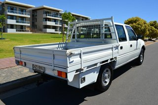 2001 Holden Rodeo TF MY02 LX Crew Cab 4x2 White 5 Speed Manual Utility.