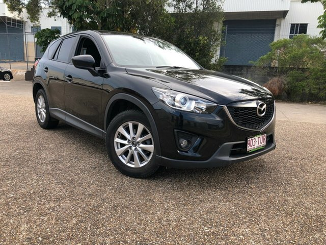 Used Mazda CX-5 KE1071 MY14 Maxx SKYACTIV-Drive Sport, 2014 Mazda CX-5 KE1071 MY14 Maxx SKYACTIV-Drive Sport Black 6 Speed Sports Automatic Wagon