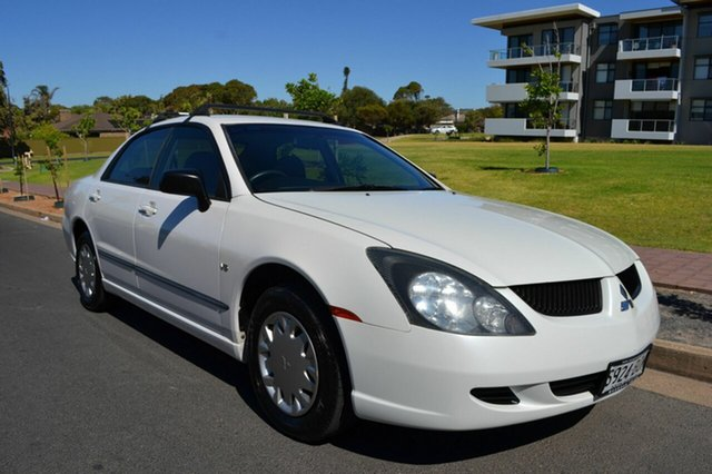 Used Mitsubishi Magna TW ES, 2004 Mitsubishi Magna TW ES White 4 Speed Sports Automatic Sedan
