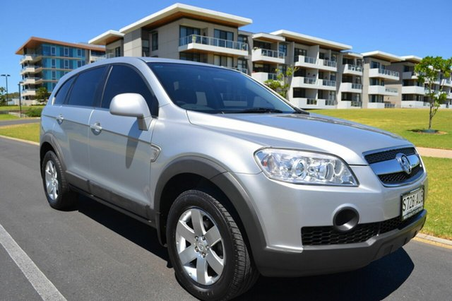 Used Holden Captiva CG CX AWD, 2007 Holden Captiva CG CX AWD Silver 5 Speed Sports Automatic Wagon